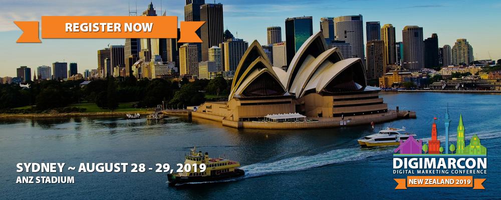 DigiMarCon New Zealand 2019 Register